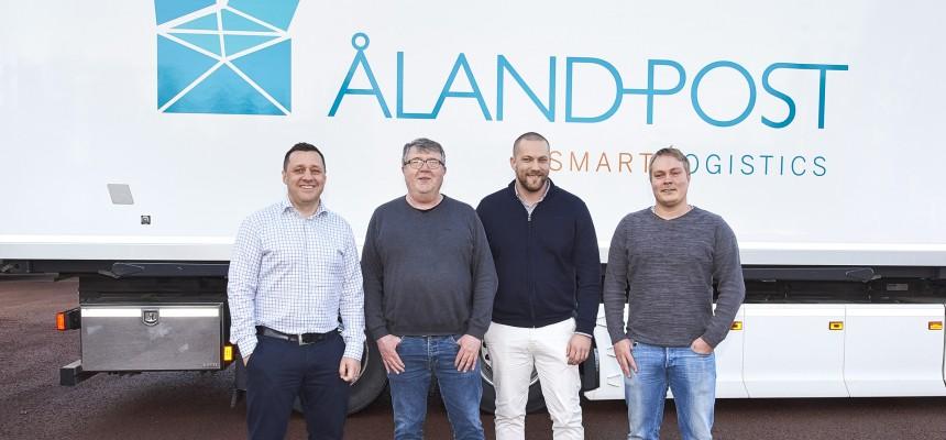 Åland Post är DB Schenkers nya transportpartner på Åland