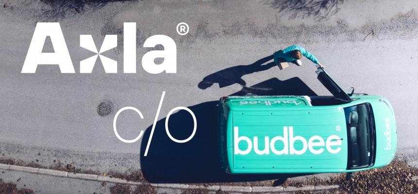 Axla Logistics ja Budbee yhteistyössä