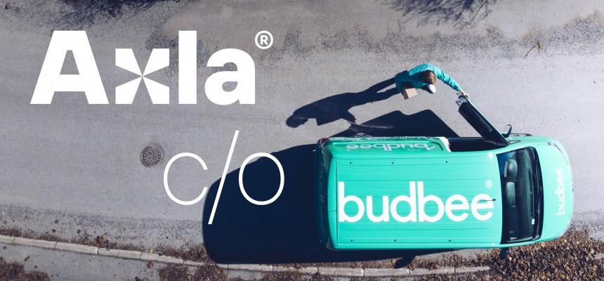 Axla Logistics och Budbee i samarbete