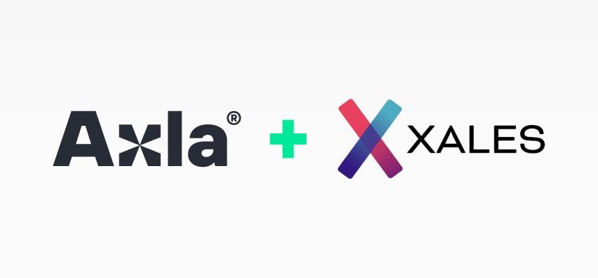 Axlas och Xales logotyper