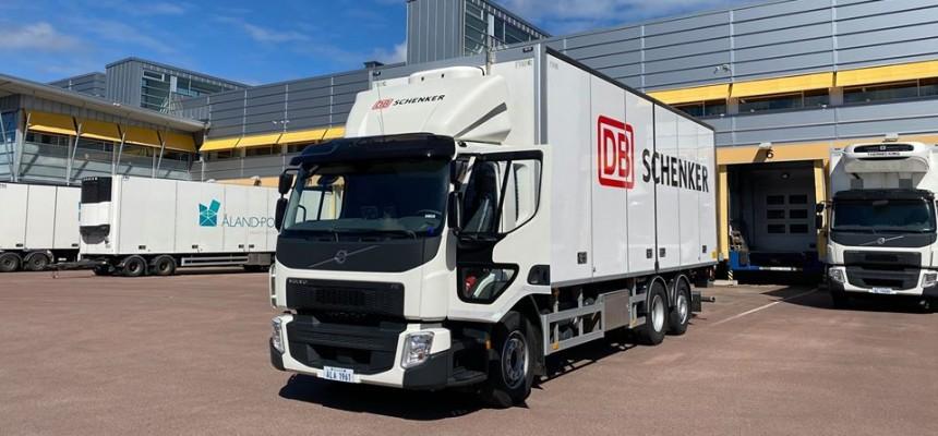 Åland Post i samarbete med Schenker