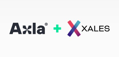 Axla and Xales logotypes