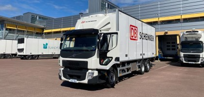 Åland Post ja Schenker yhteistyössä