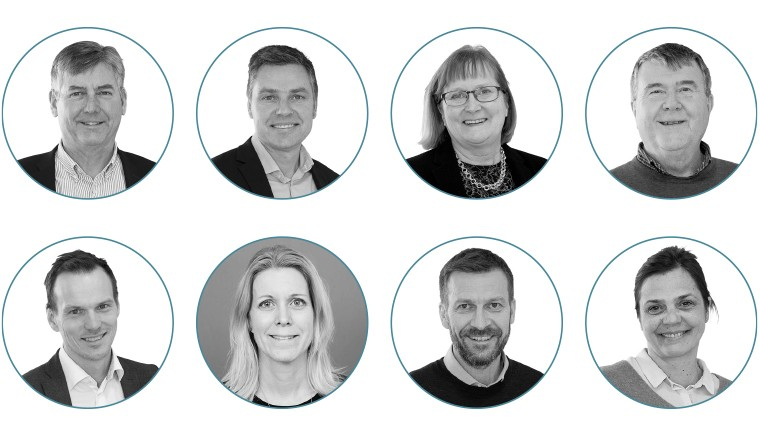 Åland Posts ledningsgrupp 2021