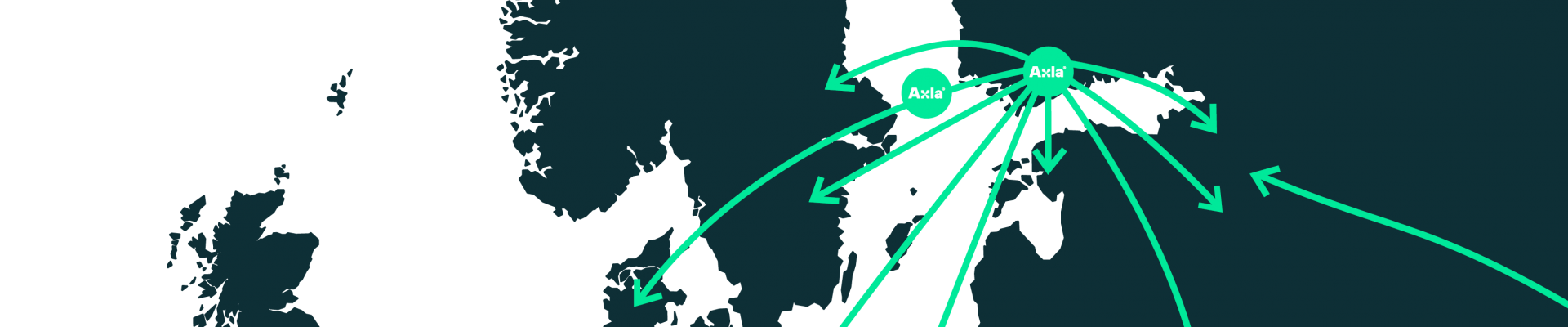 Axla globalt nätverk