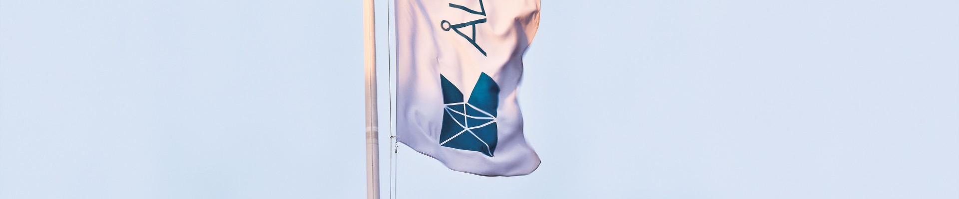 Åland Post flagga