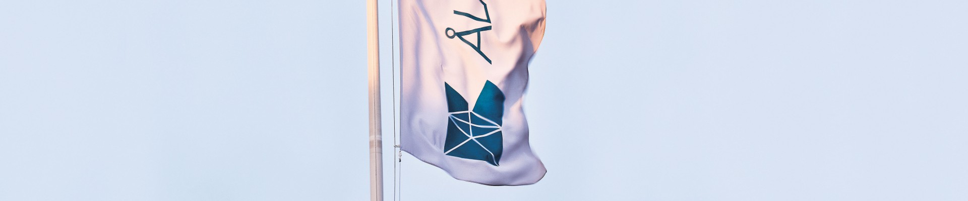 Åland Post flag