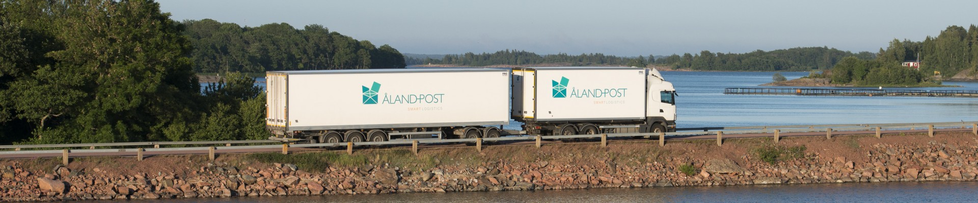 Åland Post vehicle